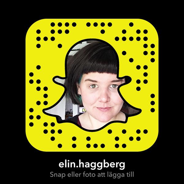 Teknifik Elin Häggberg Snapchat användarnamn username elin.haggberg
