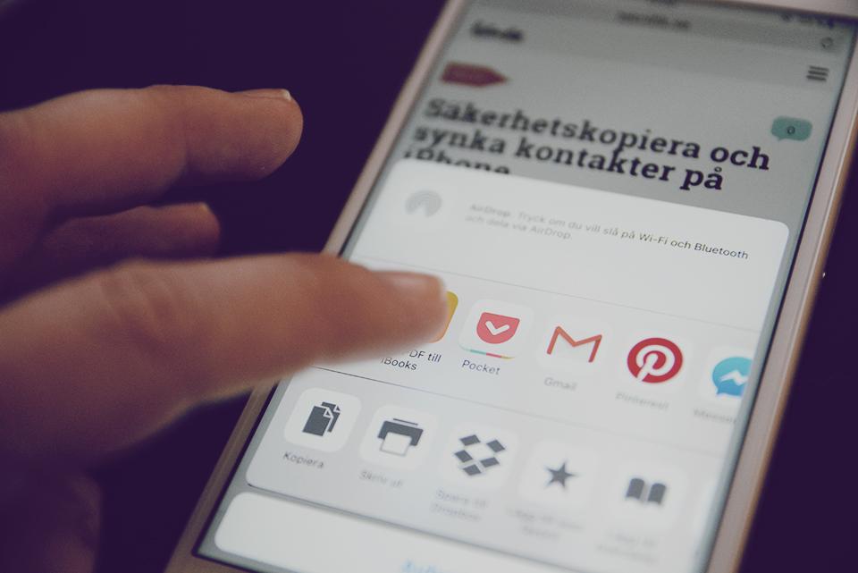 apptips pocket app spara webben