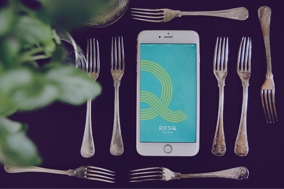 ResQ Club App rädda mat överbliven matsvinn miljö eko