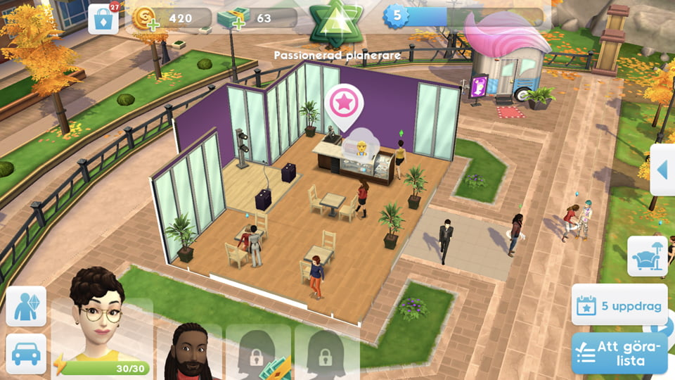 Sims mobil sims4 mobile