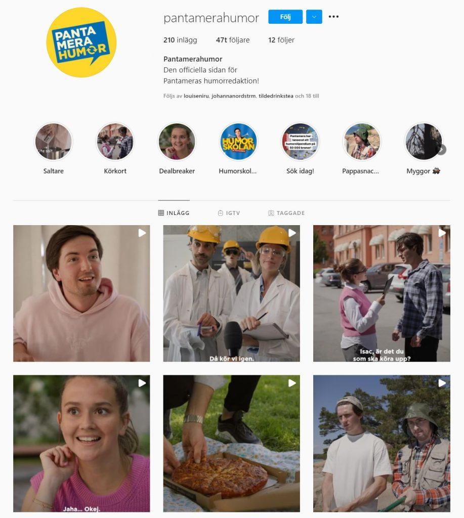 företag instagram lyckas