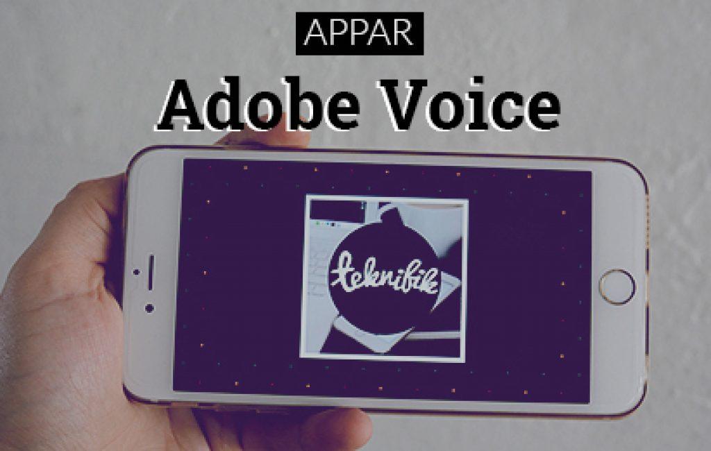 adobe voice recension feat