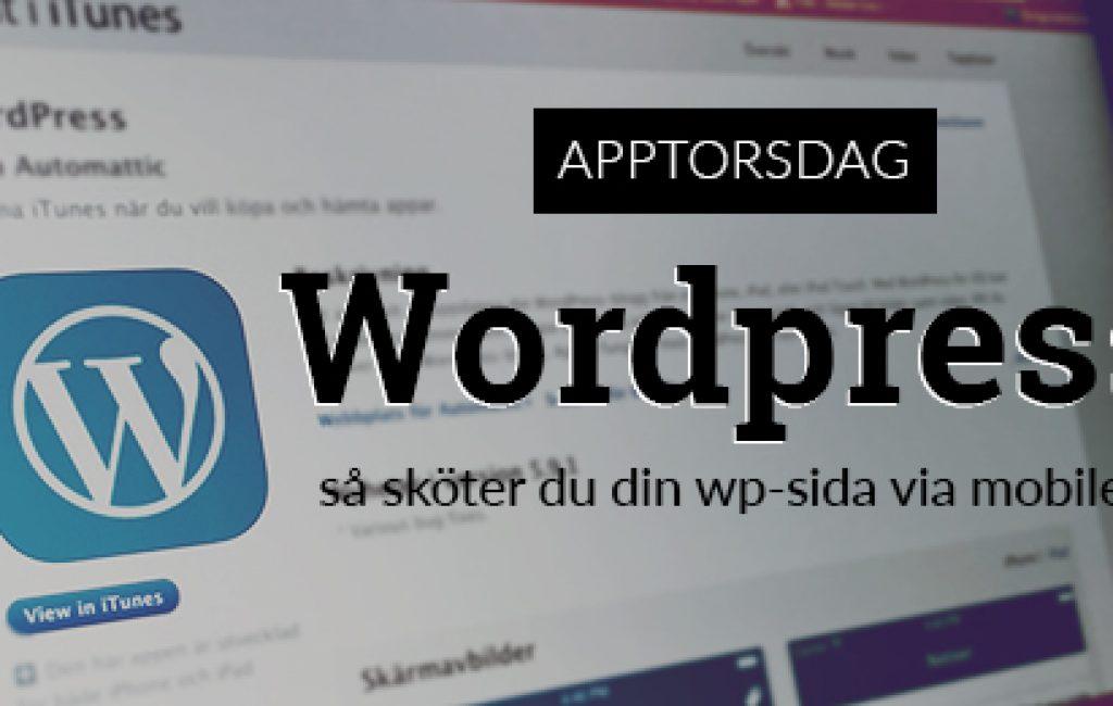 wordpressappen app wordpress feat